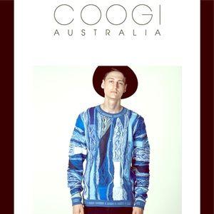 COOGI men's sweater NWT